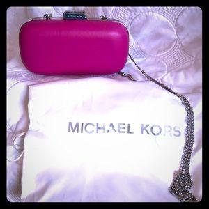 Hot Pink MK clutch